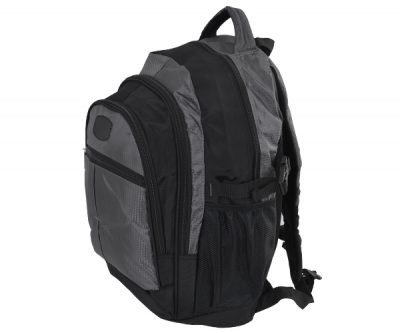 Leisure Backpack – Avail in: Black/Red