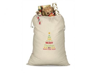 St Nicks Giant Cotton Drawstring Bag