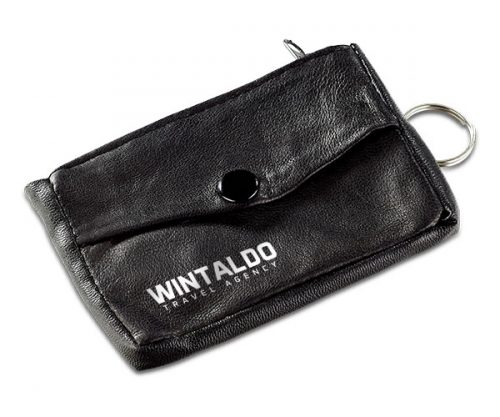 Texas Leather Key pouch – Avail in: Black