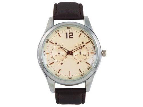 Oxford Analogue Wrist Watch – Black Strap