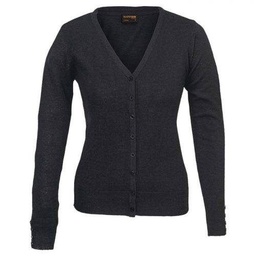 Ladies Kelsey Cardigan – Avail in: Black or Navy