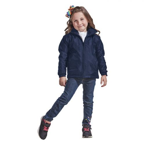 Kiddies Max Jacket – Avail in: Black or Navy