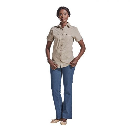 Ladies Tracker Shirt – Avail in: Navy or Stone