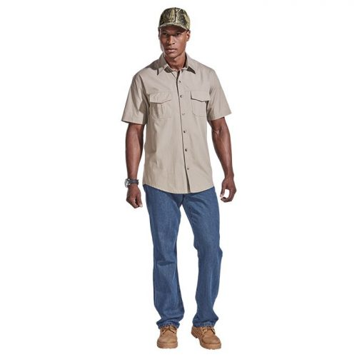 Mens Tracker Shirt – Avail in: Charcoal