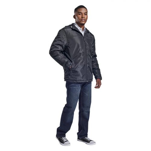 Mens Cooper Jacket – Avail in: Black/Silver or Navy/Silver