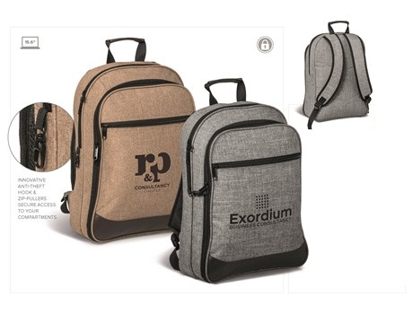 Capital Tech Backpack – Brown or Grey