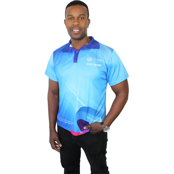 Madison Golf Shirt – Can take a full colour print(Avail in mens or ladies cuts)