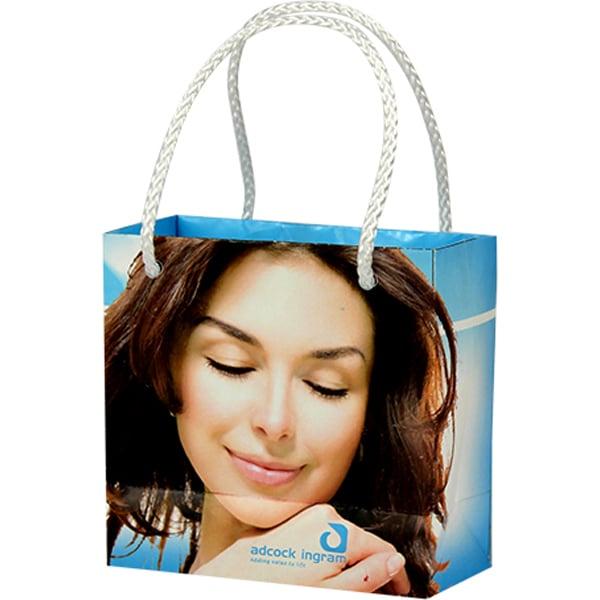 Mini Gift Bag- Can take a full colour print