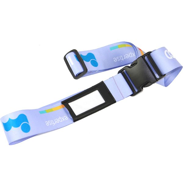 Name It Luggage Strap – Can take a full colour print