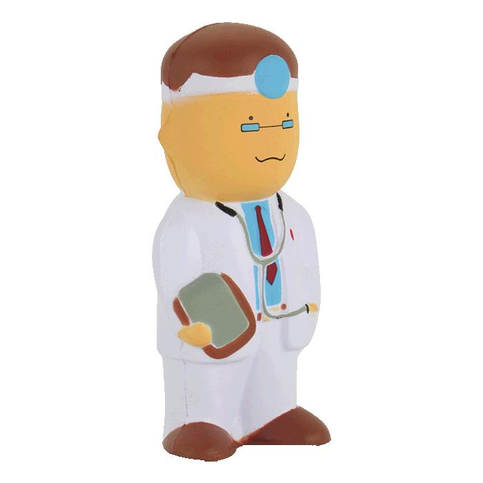 Doctor Shaped Stress Ball – Avail in: Neutral
