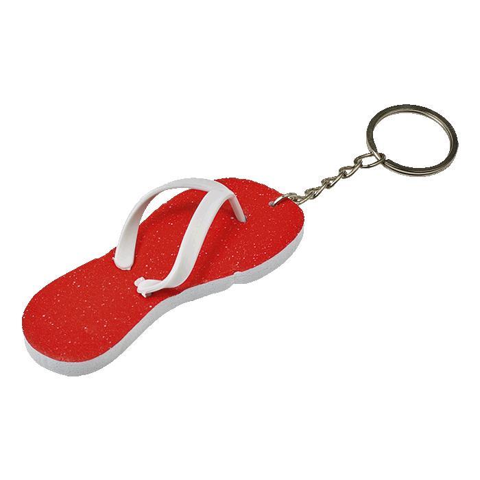 Flip Flop Keychain – Avail in: Light Blue