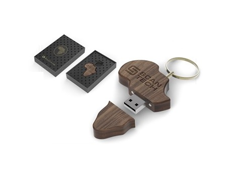 Afrique Memory Stick – 16GB – Wood