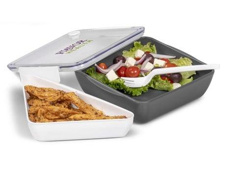 Workholic Lunch Box – White