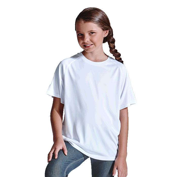 Barron 135g Kiddies Polyester T-Shirt – Avail in: Black