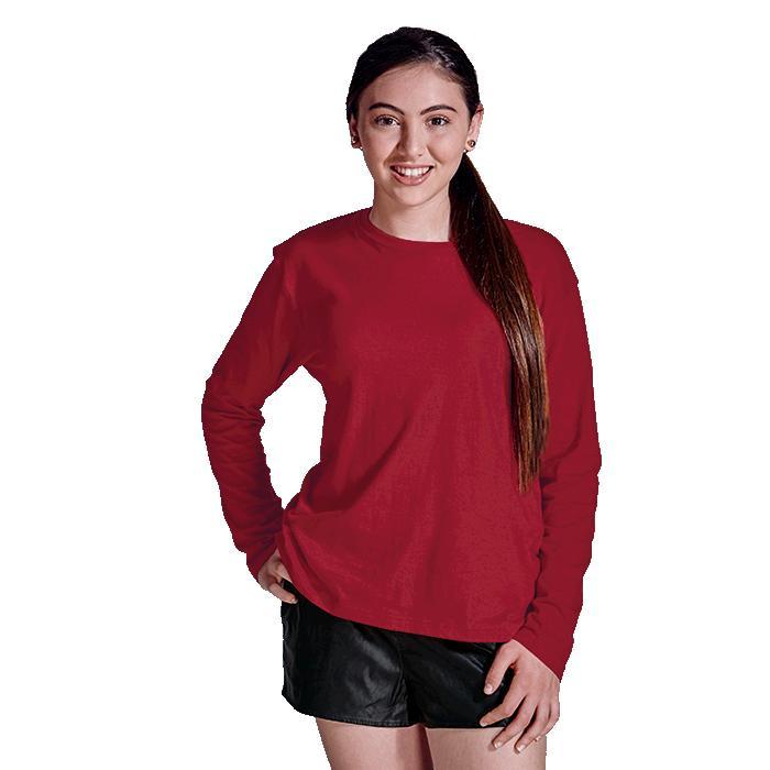 Barron 145g Kiddies Long Sleeve T-Shirt – Avail in: Black