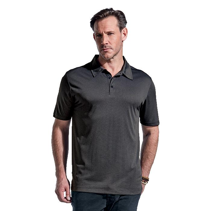 Barron Mens Zephyr Golfer – Avail in: Charcoal Melange