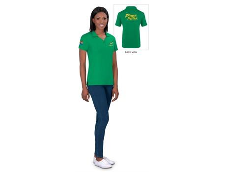 Springbok Ladies Golf Shirt – Available in: Black