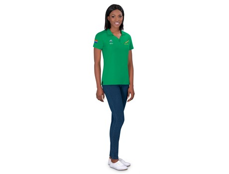 World Cup Ladies Golf shirt – Available in: Black