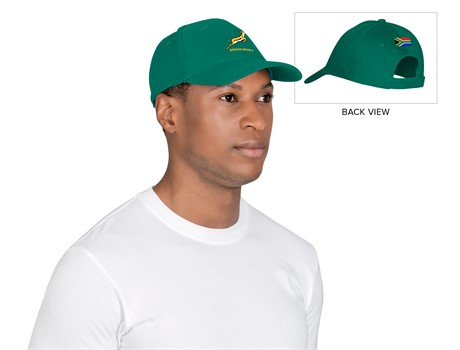 Springbok Heavy Brushed Coptton Cap – Available in: Green