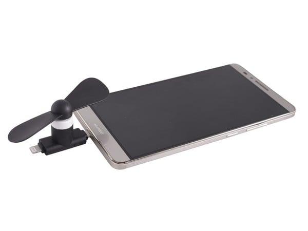 Black Cellphone Fan