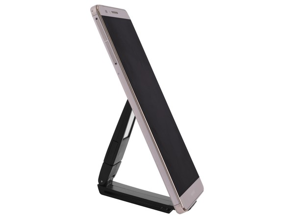 Black Cellphone Stand & Book Light