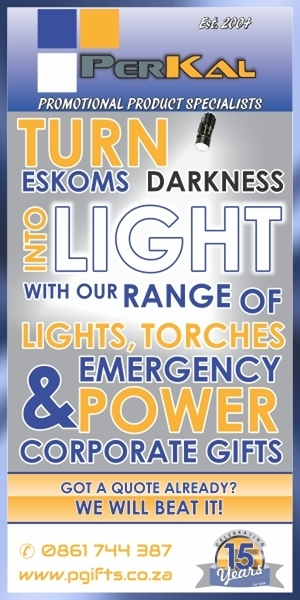 load shedding promotional products