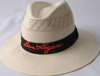 8333b253ad9 Buy Ben Hogan Panama Straw Hat - - Golf Corporate and Promotional ...